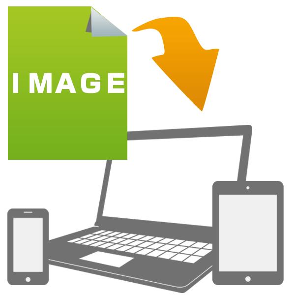 画像の品質を低下させることなく、最適圧縮