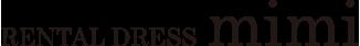 RENTALDRESS mimi  ロゴ